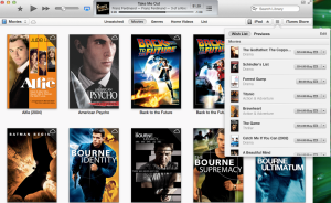 iTunes Wish List